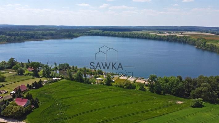 Na sprzedaż działka nad jeziorem Osiek