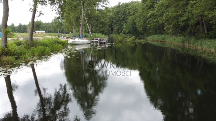 Działki nad jeziorem Niesłysz i kanałem Niesulicki